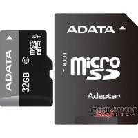 ADATA 32GB SD micro (SDHC Class 10) (AUSDH32GUICL10-RA1) memória kártya adapterrel