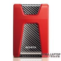 """ADATA AHD650 2,5"""" 2TB USB3.1 ütésálló piros külső winchester"""