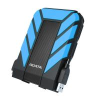 """ADATA AHD710P 2,5"""" 2TB USB3.1 ütés és vízálló kék külső winchester"""