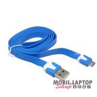 Adatkábel univerzális Micro USB kék