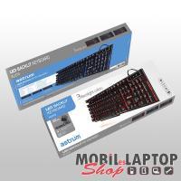 Astrum KL610 (új verzió) cseppálló gaming billentyűzet kétszínű LED háttérvilágítással (angol)