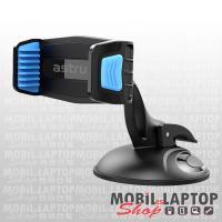 """Astrum SH490 autós tartó 3,5""""- 6,3"""" 360 fokban forgatható fekete/kék nanopados (bárhol megtapad)"""