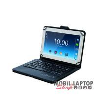 """Astrum univerzális tablet tok Bluetooth 3.0 billentyűzettel 9/10"""" fekete, Android/iOS kompatib TB100"""