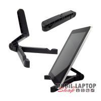 Asztali táblagép tartó fekete