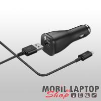 Autós töltő Samsung Micro USB 2000mAh gyorstöltő fekete ( EP-LN915U / ECB-DU4EBE )