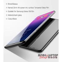 Baseus All-screen Samsung S9 Plus fekete 0.3mm edzettüveg kijelzővédő fólia