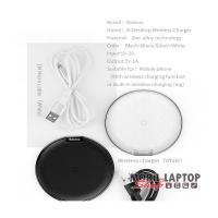Baseus Desktop iPhone X ezüst asztali vezeték nélküli töltő