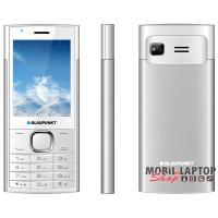 """Blaupunkt FL 01 2,8"""" fehér-ezüst mobiltelefon + Hello Kártyás Expressz csomag"""