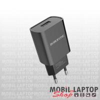 Borofone BA20A Sharp univerzális hálózati töltő USB adapter 2.1A fekete