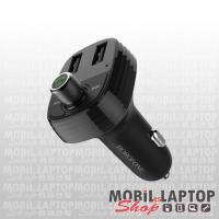 Borofone BC16 autós töltő 2 x 3.4A + Bluetooth FM transmitter