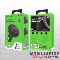 Borofone BC26 autós töltő 2 x 2.1A + Bluetooth FM transmitter
