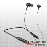 Borofone BE29 univerzális fekete bluetooth 5.0 SPORT headset mikrofonnal, MicroSD támogatással