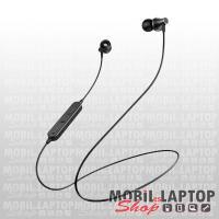 Borofone BE32 Easygoing univerzális fekete bluetooth 5.0 SPORT headset mikrofonnal
