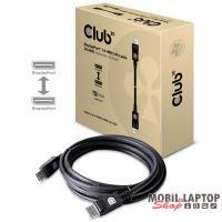 CLUB3D DisplayPort 1.4 HBR3 - DisplayPort 1.4 HBR3 8K 28AWG 3m kábel