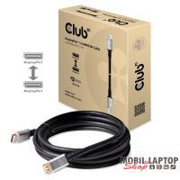 CLUB3D DisplayPort 1.4 HBR3 - DisplayPort 1.4 HBR3 8K/60Hz 4m kábel