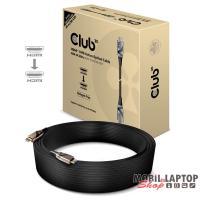 CLUB3D HDMI 2.0 - HDMI 2.0 30m HDR 4K60Hz aktív optikai kábel