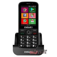 """EVOLVEO EP-900 Easy Phone AD 2,8"""" 3G 4GB Dual SIM fekete mobiltelefon"""