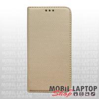 """Flippes tok Samsung G980 Galaxy S20 ( 6,3"""" ) arany oldalra nyíló"""