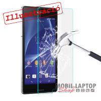 Fólia Samsung G928 Galaxy S6 Edge+ hajlított átlátszó ÜVEG