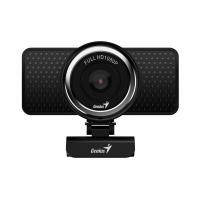 Genius Ecam 8000 1080p fekete webkamera