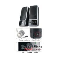 Genius SP-M200 2.0 jack 6W fekete hangszóró
