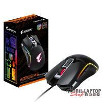 Gigabyte AORUS M5 fekete optikai Gamer egér