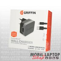 Hálózati töltő univerzális Micro USB 3.0 12W gyorstöltés támogatás GRIFFIN