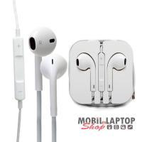 Headset sztereo Apple iPhone EARPODS 3G / 4 / 4S / 5 / 5C / 5S / 6 / 6S / 6 Plus / 6S Plus / SE
