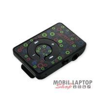 Hordozható lejátszó MP3 MINTÁS fekete
