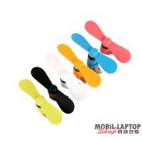 iTotal CM2930 micro USB csatlakozós mini ventilátor okostelefonokhoz