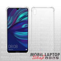 Kemény hátlap Huawei Y7 (2019) / Y7 Prime (2019) ütésálló műanyag + gumi átlátszó