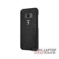 Kemény hátlap Samsung G950 Galaxy S8 fekete Ferrari (FEHCAHCS8BK)