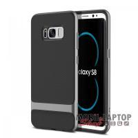 Kemény hátlap Samsung G950 Galaxy S8 szürke Royce Series ROCK