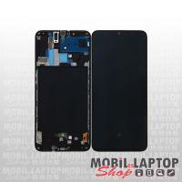 Kijelző érintőpanellel Samsung A705 Galaxy A70 fekete + szervizelési díj