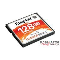 Kingston 128GB Compact Flash Canvas Focus (CFF/128GB) memória kártya