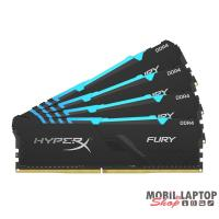 Kingston 64GB/3600MHz DDR-4 HyperX FURY RGB (Kit 4db 16GB) (HX436C17FB3AK4/64) memória