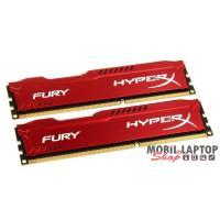 Kingston 8GB/1600MHz DDR-3 (Kit 2db 4GB) HyperX FURY piros (HX316C10FRK2/8) memória