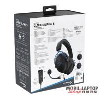 Kingston HyperX Cloud Alpha S Fekete 3,5 Jack gamer headset