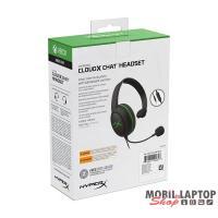 Kingston HyperX CloudX Chat (Xbox Licensed) Fekete 3,5 Jack gamer headset