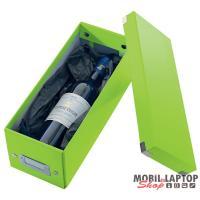 Leitz Click-n-Store CD tároló doboz lakkfényű zöld
