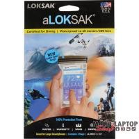 LOKSAK vízhatlan tasak, 2db-os csomag, 9,4 x 16,5 cm (okostelefonokhoz)