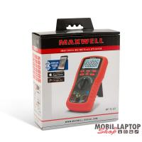 Maxwell 25521 Smart, digitális multiméter LED háttérvilágítással, Bluetooth