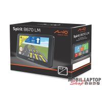 """Mio Spirit 8670 Full Europe LM 6,2"""" GPS autós navigáció"""