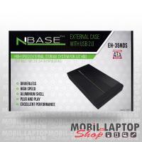 """NBASE külső winchester ház USB 2.0 3,5"""" EH-35NDS"""
