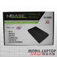 """NBASE külső winchester ház USB 3.0 3,5"""" EH-35ND3"""