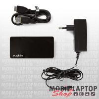 NEDIS USB2.0 4 port AKTÍV HUB fekete UHUBU2430BK