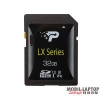 PATRIOT 32GB SD (SDHC Class 10 UHS-I) (PSF32GLX1SDH) LX memória kártya