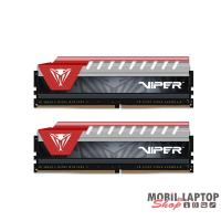 PATRIOT 8GB/2400MHz DDR-4 Viper Elite piros (Kit 2db 4GB) (PVE48G240C5KRD) memória