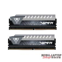 PATRIOT 8GB/2666MHz DDR-4 Viper Elite szürke (Kit 2db 4GB) (PVE48G266C6KGY) memória