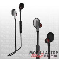 Remax S18 univerzális fekete bluetooth 4.2 SPORT headset , multipoint , mikrofonnal